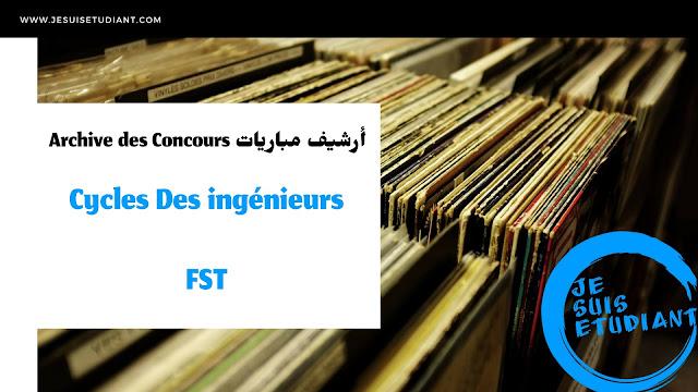 Archive des Cycles Des Ingénieurs de FST Maroc