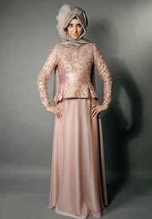 Desain kebaya muslim trendy