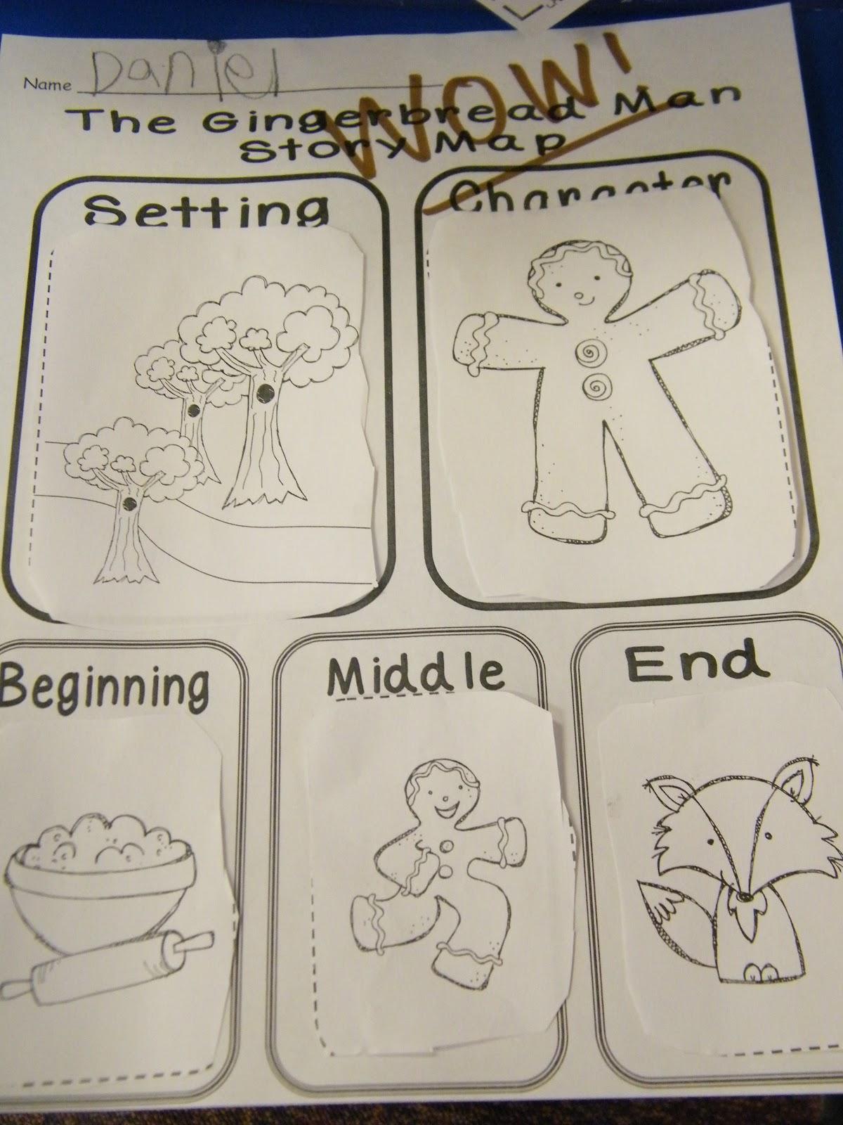 Inspired By Kindergarten Gingerbread Unit