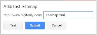 sitemap कैसे submit karen