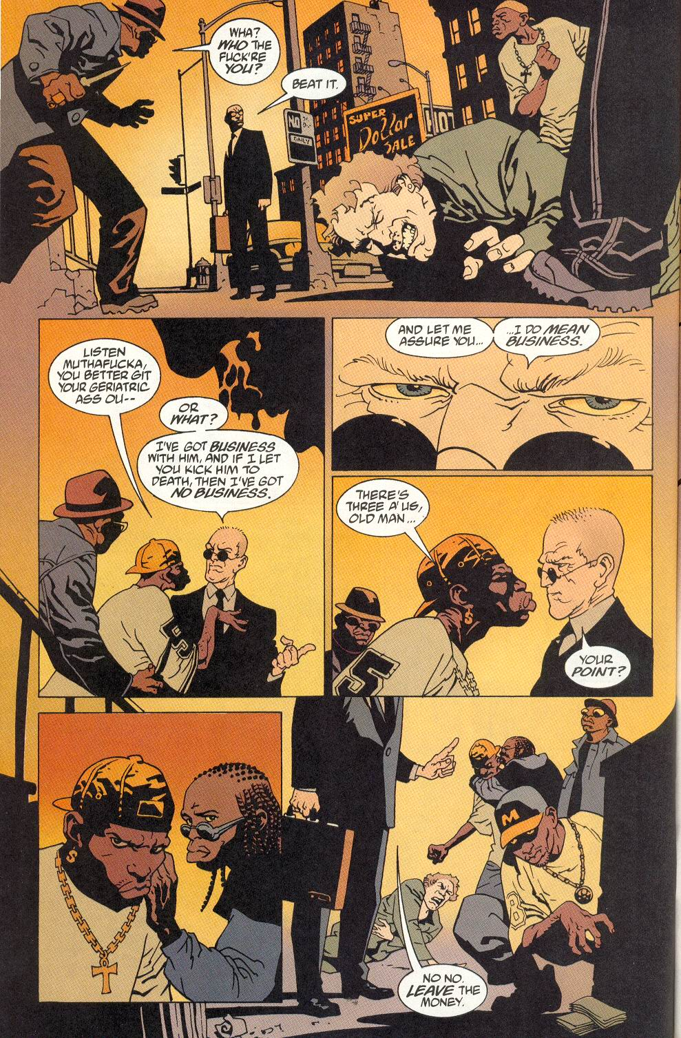 100 Bullets 6 Page 23