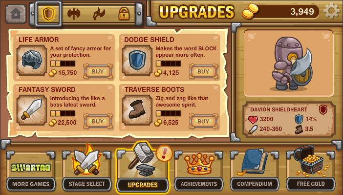 Flash games upgrade