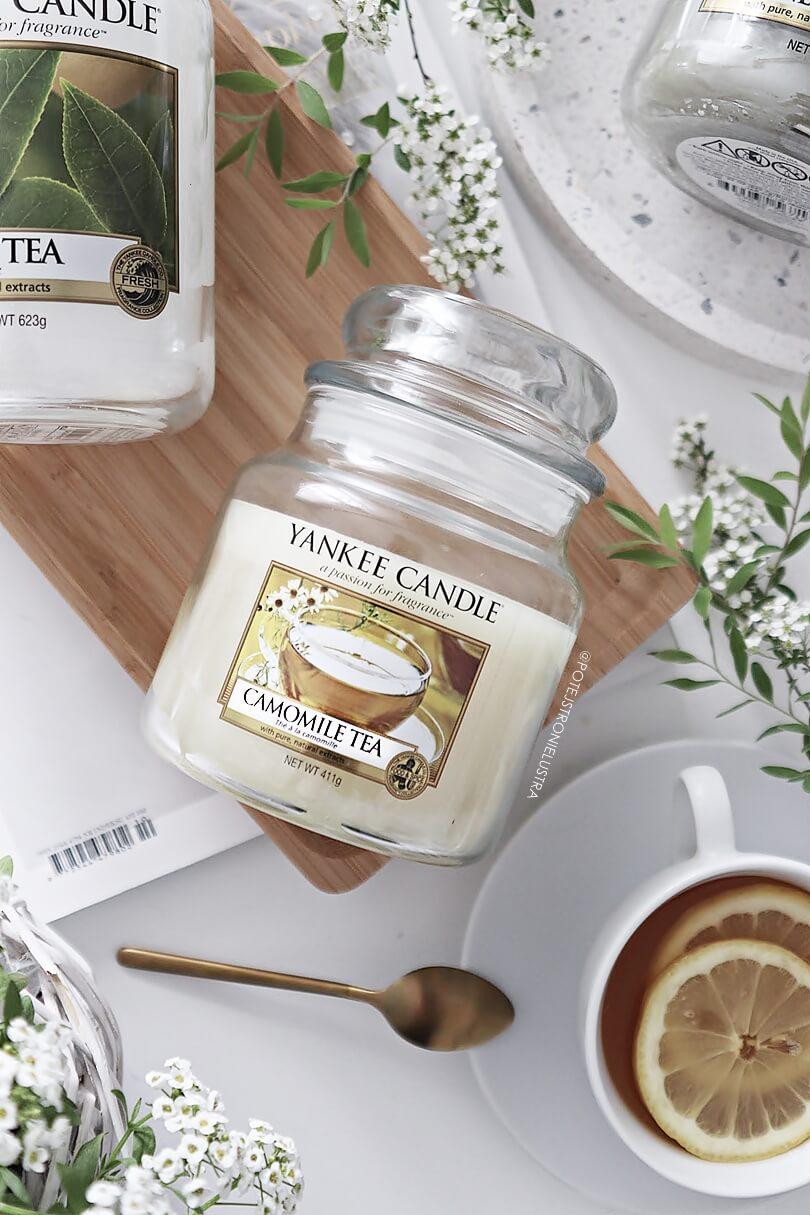 yankee candle camomile tea blog recenzja
