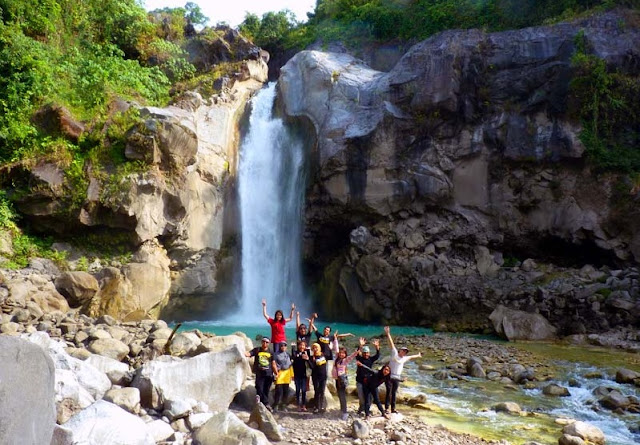 The Charm Of The Waterfall Mangku Milky Sembalun Regions