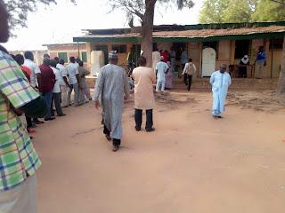 Election updates in Unguwan  Dosa polling unit, Kawo Kaduna.