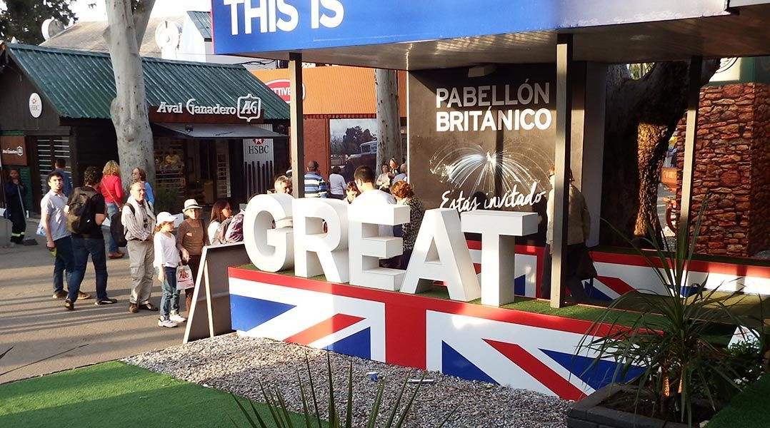 Expo Prado Stands : Uk embassy in uruguay readying for expo prado international