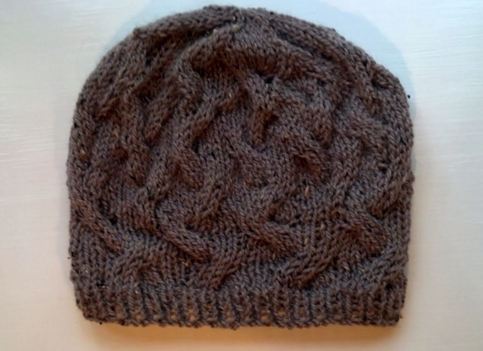 40ba1aec669ba This is one of my favorite hats to make and it comes out looking  differently depending upon the yarn thickness you use. If you use a worsted  weight yarn