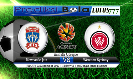 PREDIKSI SKOR Newcastle Jets vs Western Sydney 22 Desember 2017
