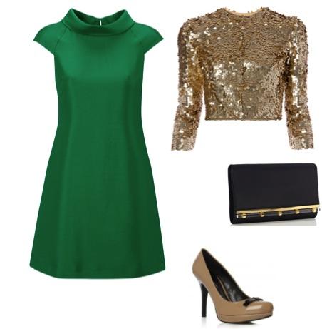 a39306222 Hoje vou casar assim: 4 looks de inverno com um vestido verde muito ...