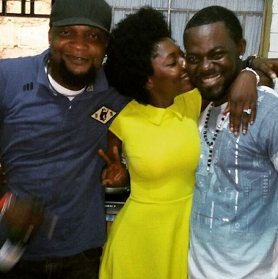 Yvonne Jegede is engaged to Bukky Ajayi's son, Abounce (photos)