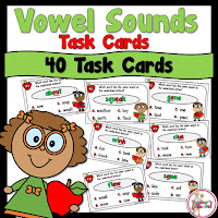 Vowel Sound Task Cards