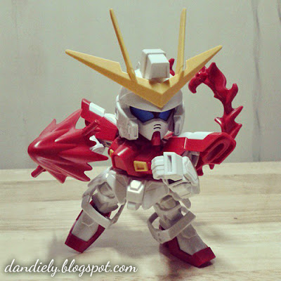 SD Build Burning Gundam