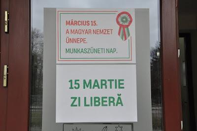 Március 15, Románia, RMDSZ, romániai magyarság, kisebbségi jogok