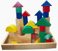 Mainan Kayu City Blocks 26