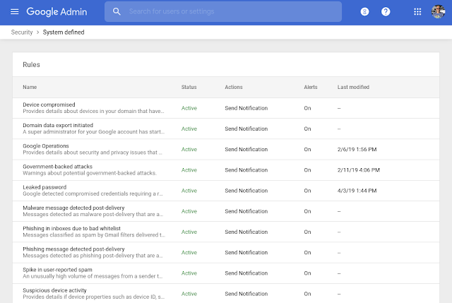 New email alerts and location for easier alert center management