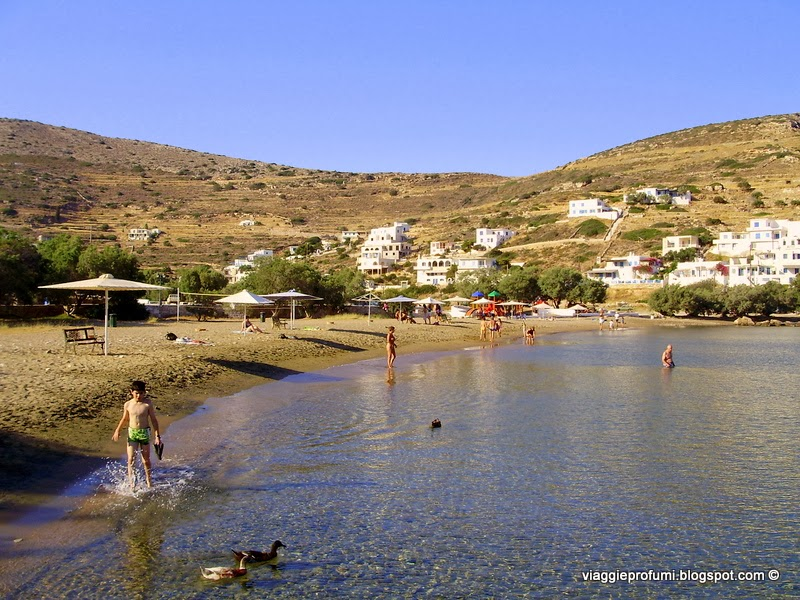 Sikinos, spiggia di Alopronia
