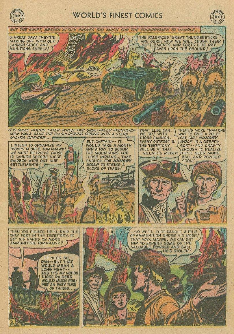 Read online World's Finest Comics comic -  Issue #92 - 29