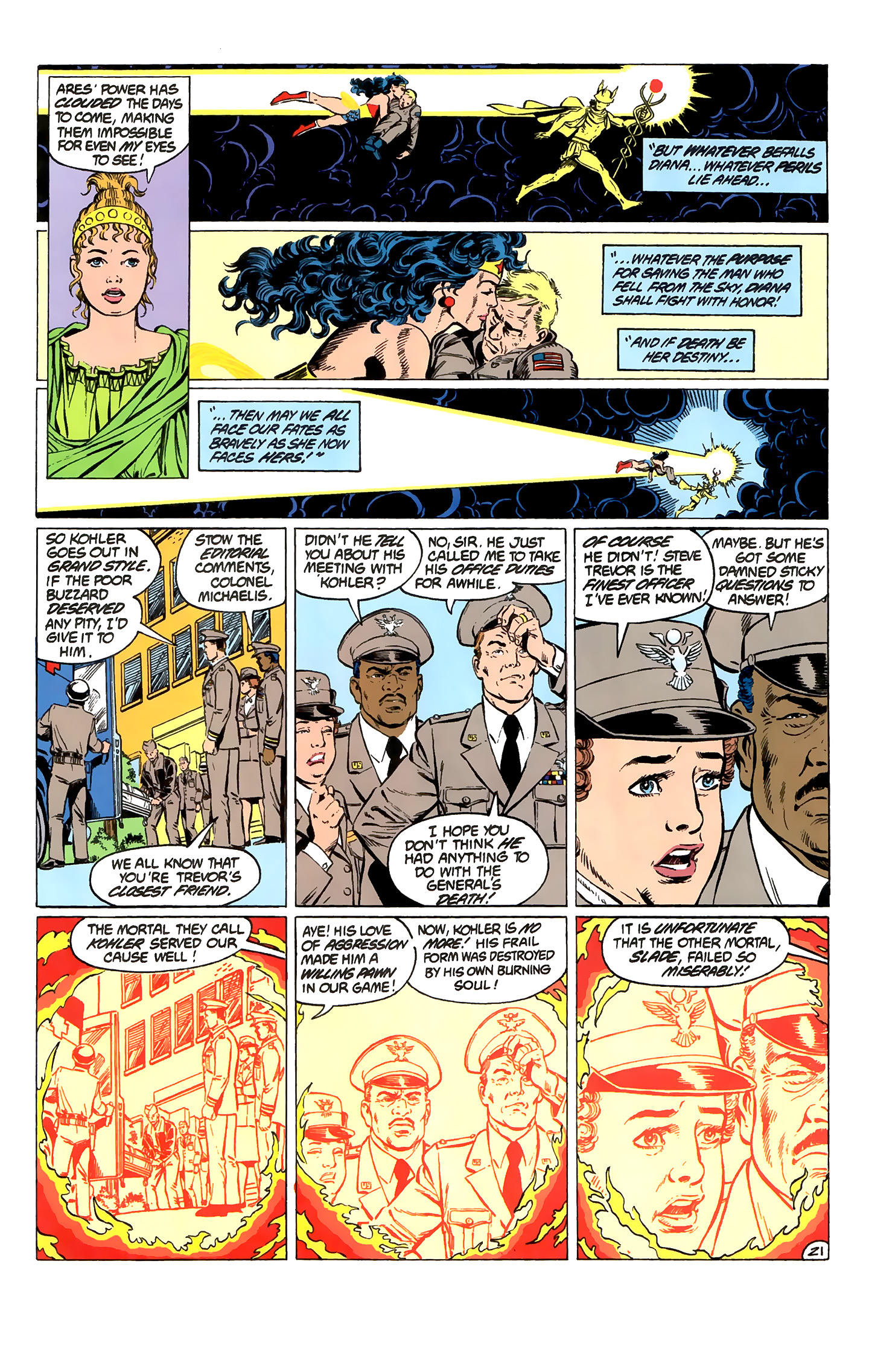 Read online Wonder Woman (1987) comic -  Issue #2 - 22