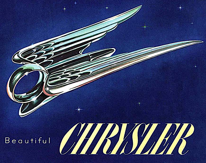 an old Chrysler hood mascot, a ring with wings