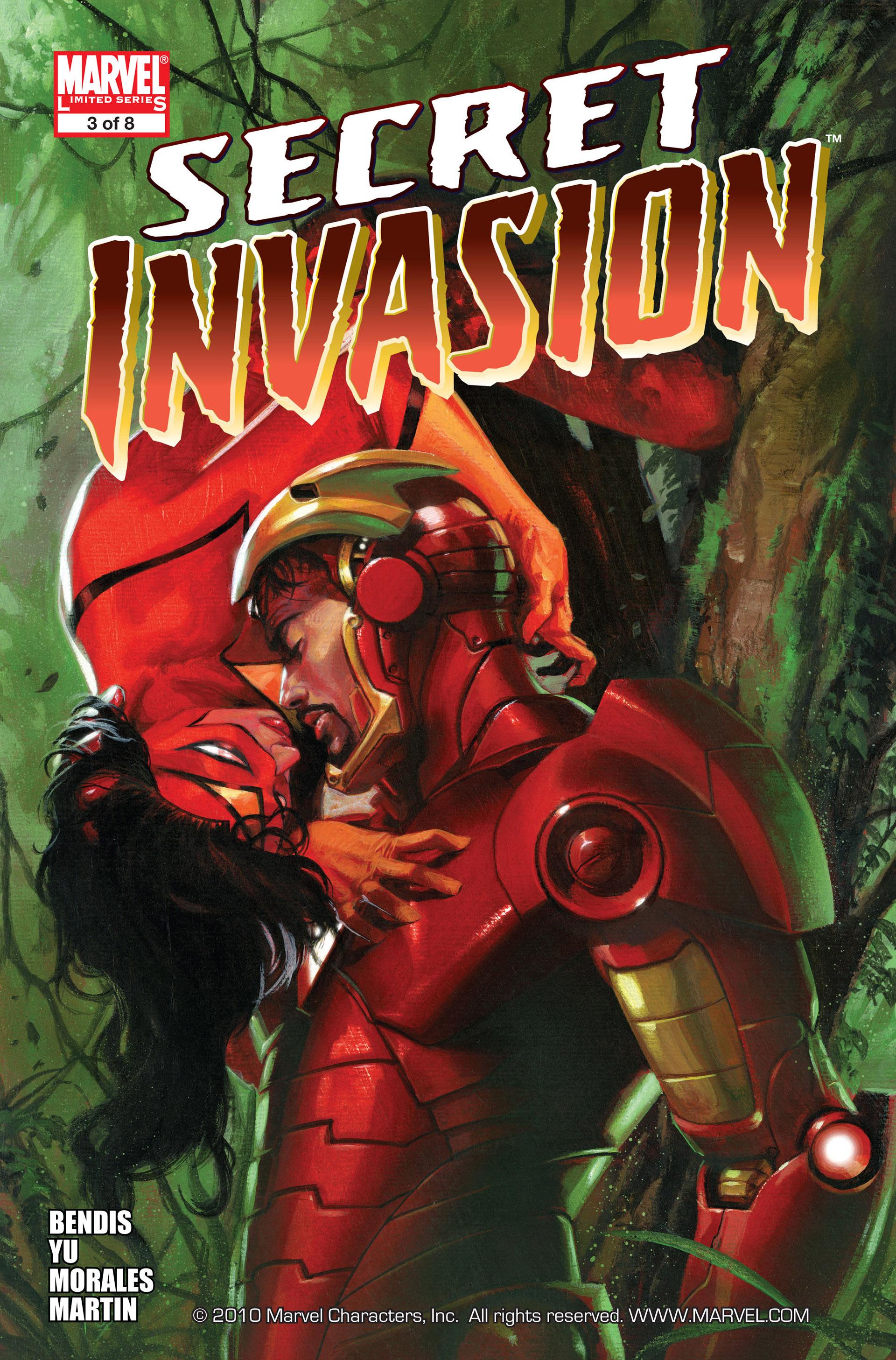 Read online Secret Invasion comic -  Issue #3 - 1