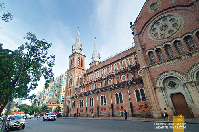 Ho Chi Minh Day Tour Notre Dame Cathedral