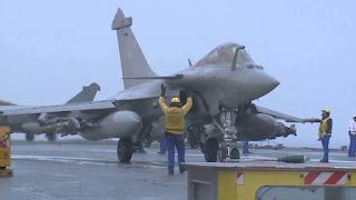 Rafale M F3-R Angkatan Laut Perancis