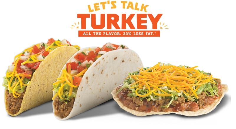 News: Del Taco - New Turkey Tacos | Brand Eating