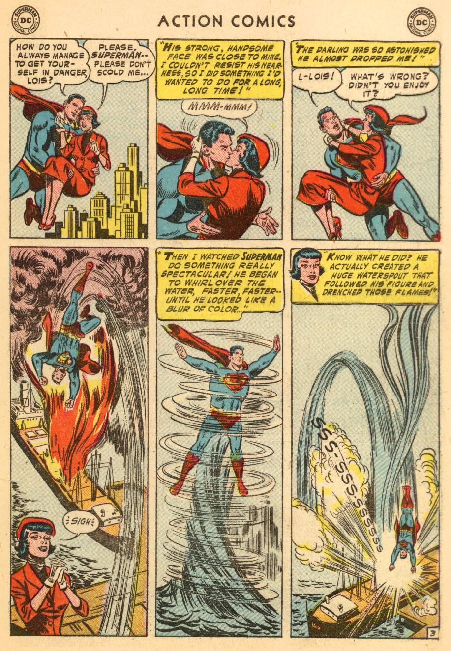Read online Action Comics (1938) comic -  Issue #206 - 5