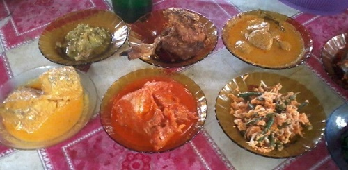 Nasi Sek Pantai Gandoriah Sumatera Barat