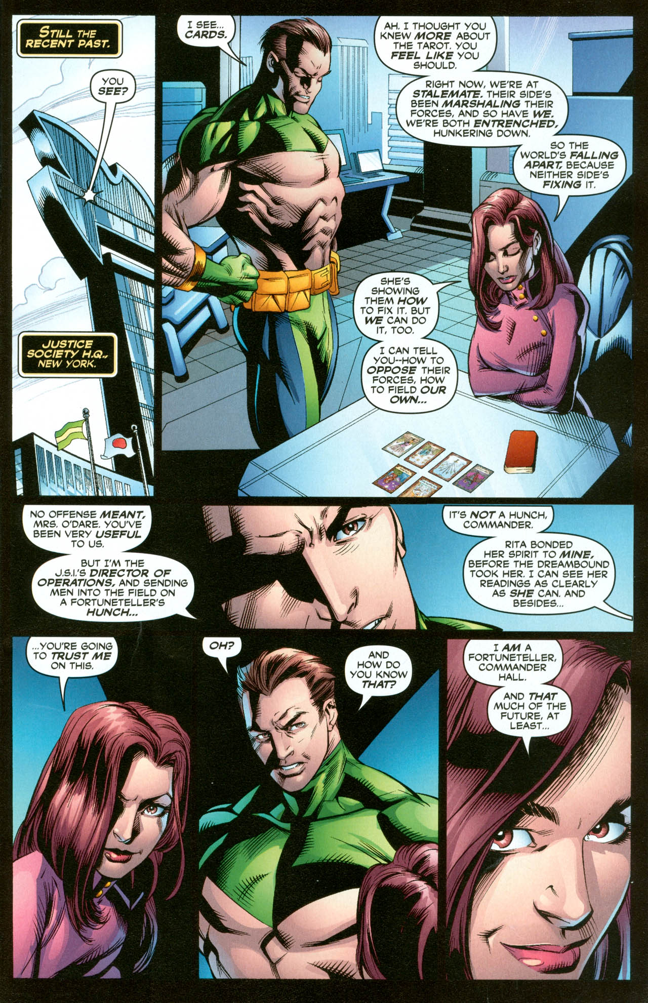 Read online Trinity (2008) comic -  Issue #31 - 7