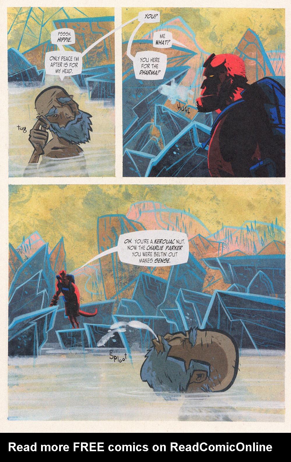 Read online Hellboy: Weird Tales comic -  Issue #5 - 14