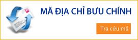 Mã bưu chính, bưu điện Postal CODE mới nhất 2015
