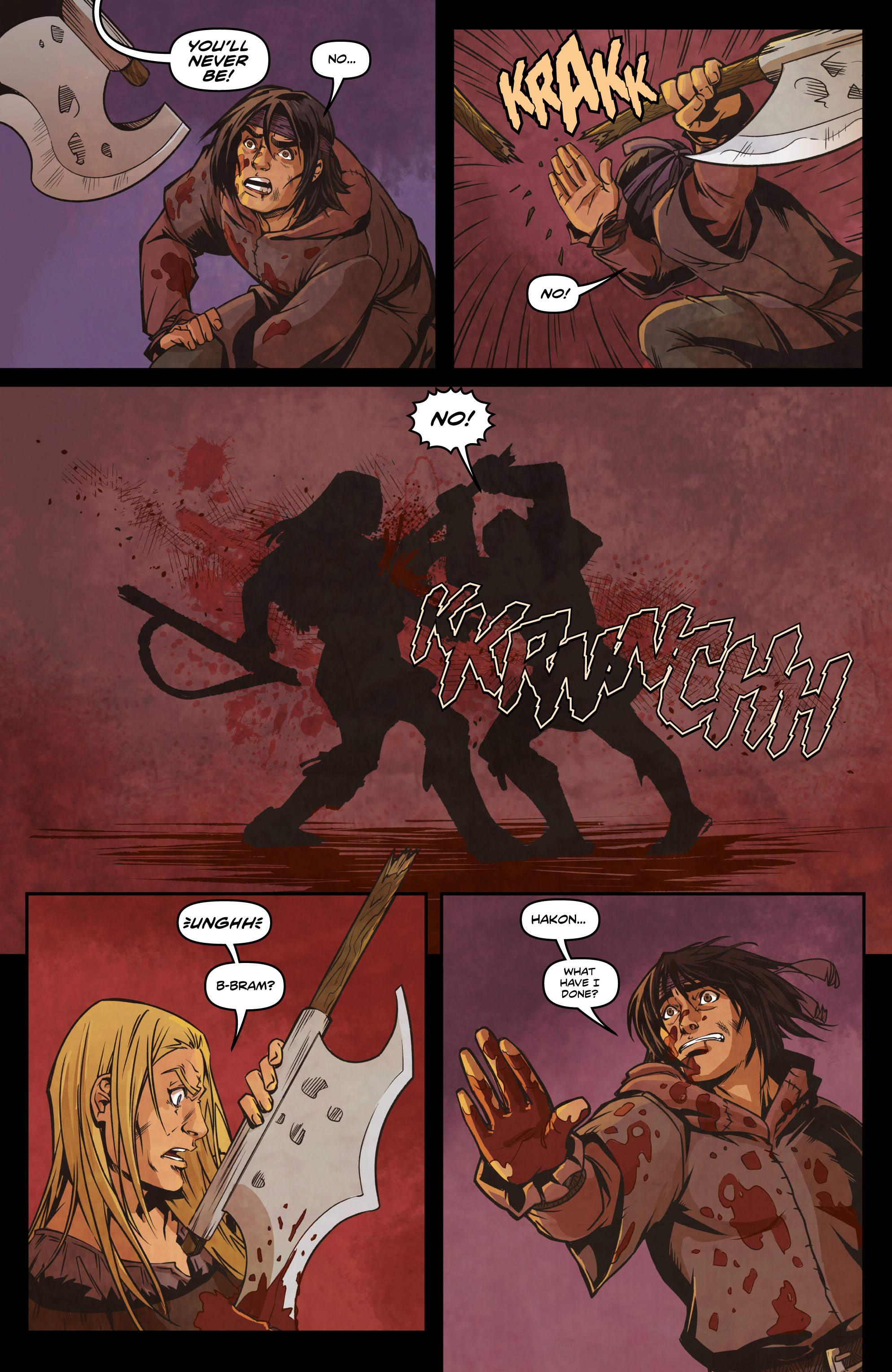 Read online Rogues! (2014) comic -  Issue #4 - 18
