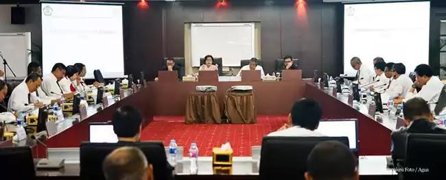 Sri Mulyani di Direktorat Jendral Pajak