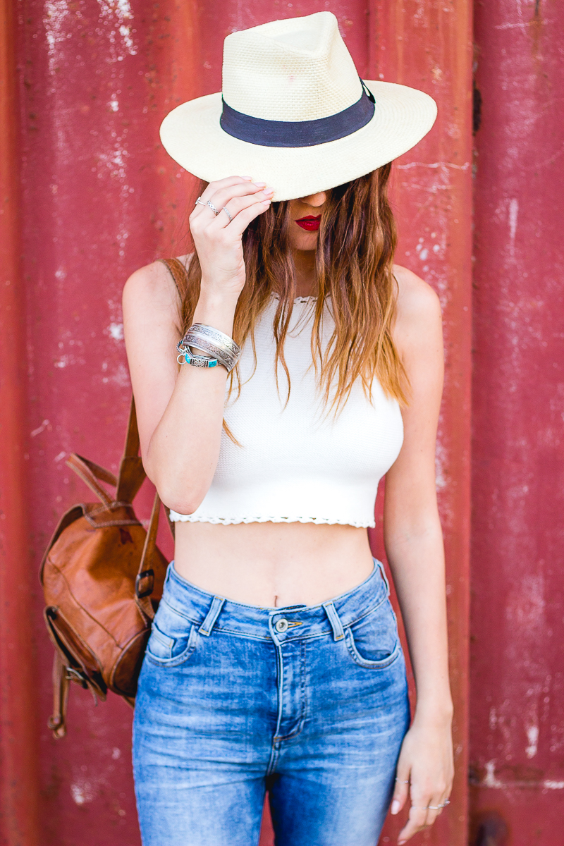hatter crop top