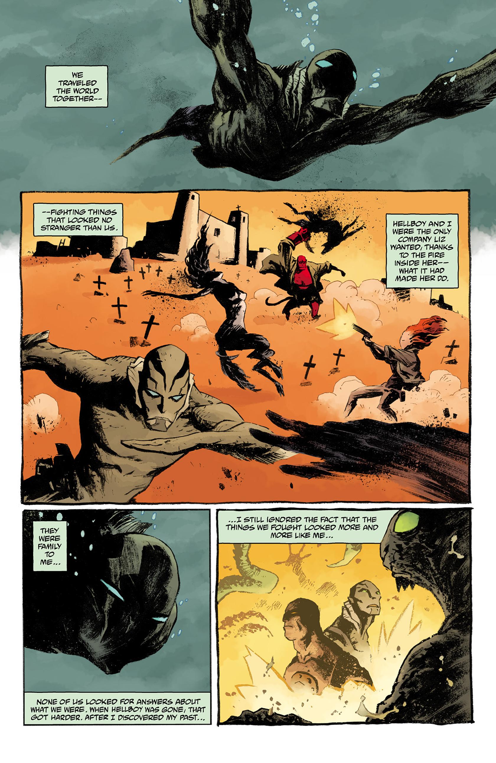 Read online Abe Sapien comic -  Issue #24 - 6