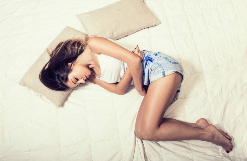dolores en el síndrome premenstrual
