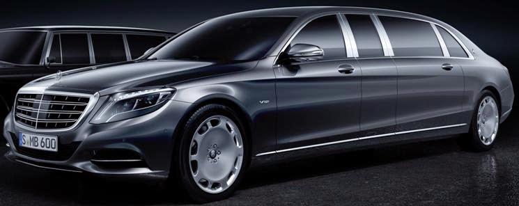 saxton on cars: mercedes-maybach 600 s pullman limo starts around