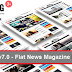 MaxBlog v7.0 - Flat News Magazine Blog WP Download