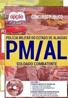 Apostila para o concurso PM-AL 2017 - SOLDADO COMBATENTE