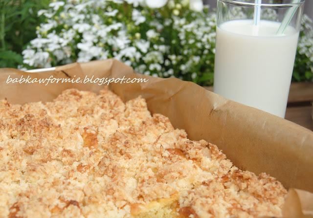 drożdżówka sypana - najprostszy przepis babkawformie.blogspot.com