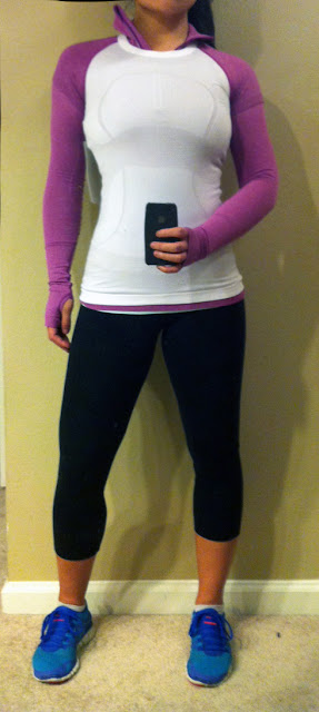 My Superficial Endeavors Ikea: My Superficial Endeavors: Lululemon Swiftly Tech 1/2 Zip