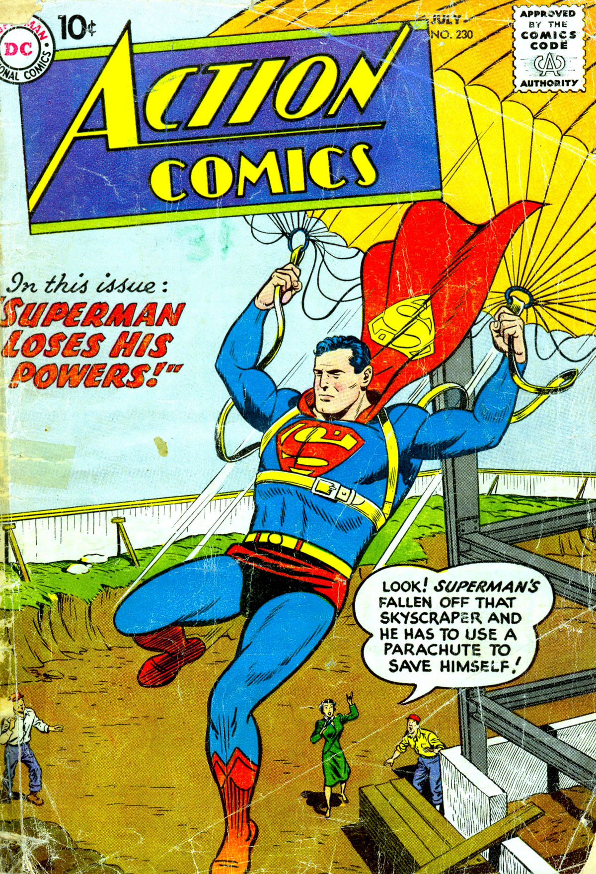 Read online Action Comics (1938) comic -  Issue #230 - 1