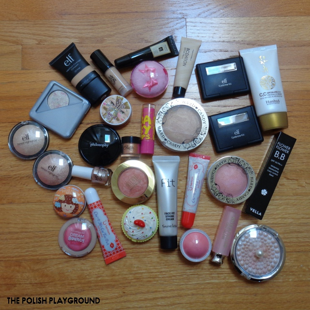 October 2017 Product Empties