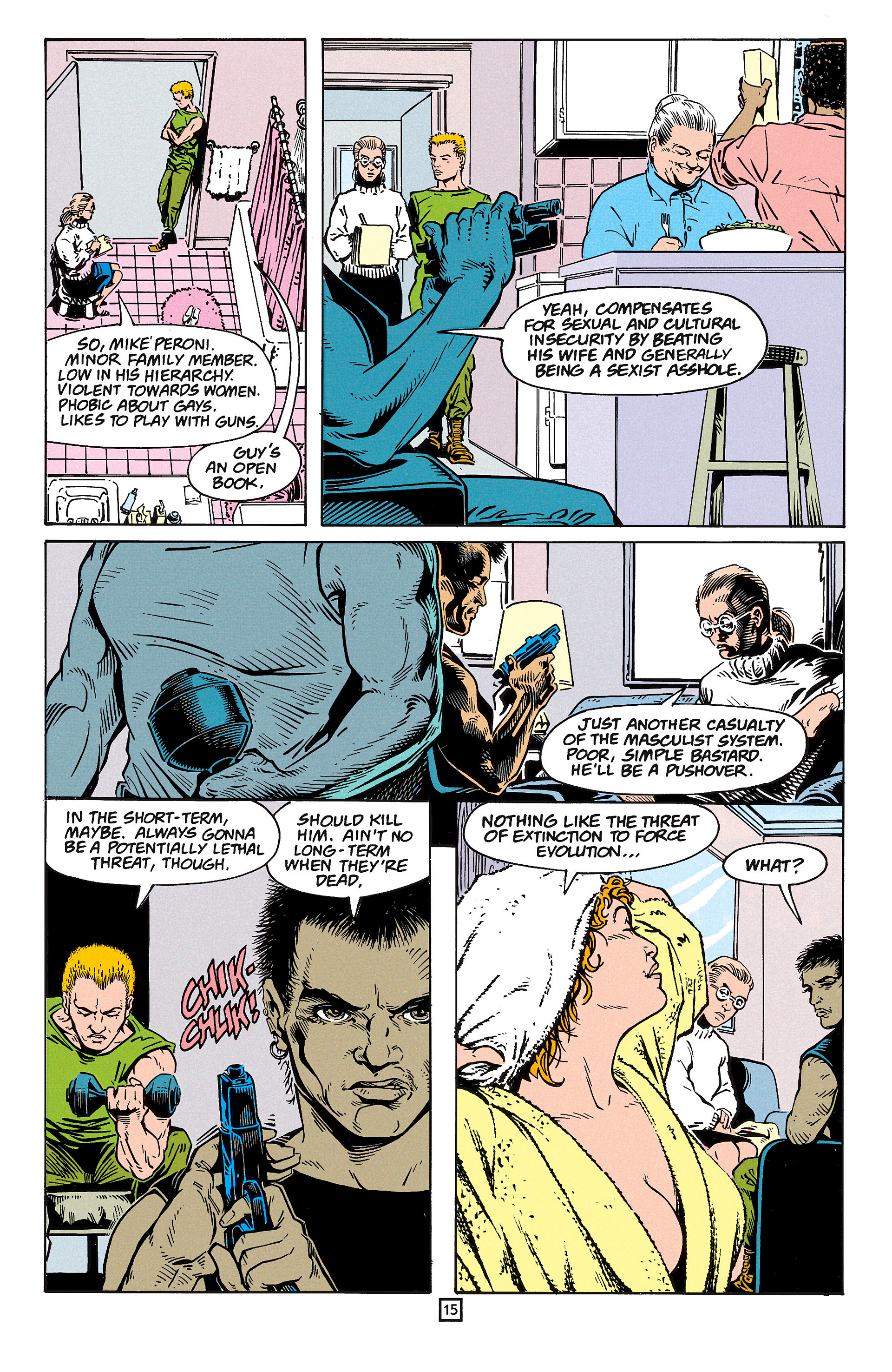 Read online Animal Man (1988) comic -  Issue #59 - 16