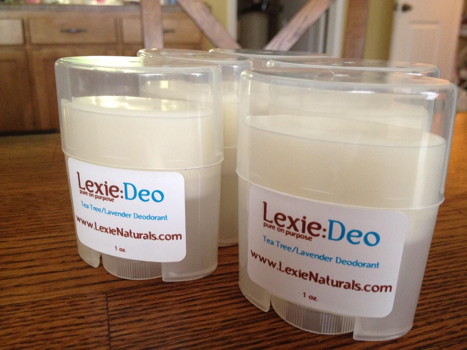 Lexie Naturals: Homemade Natural Stick Deodorant