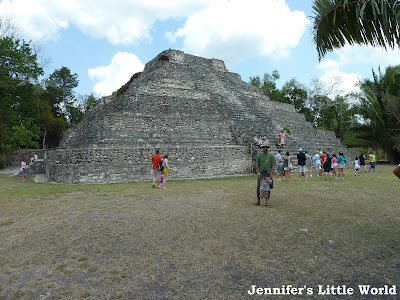Costa Maya Mayan temple tour with Disney Cruise