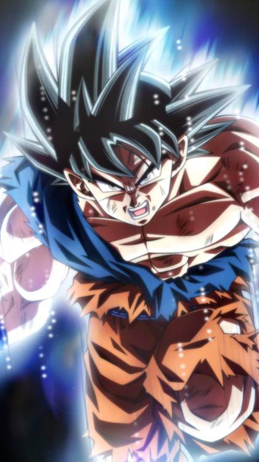 Super Son Goku Dragon Ball Super Instinct Wallpaper Hd