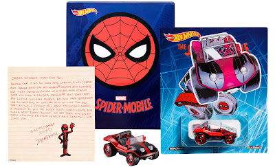 San Diego Comic-Con 2017 Exclusive Spider-Man Spider-Mobile & Deadpool Dead Buggy by Hot Wheels x Marvel