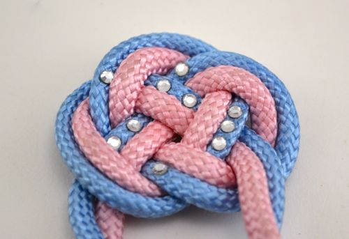 Keep Calm And Craft On Chinese Double Coin Knot Hair Comb Tutorial